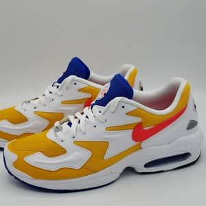 Nike Air Max 2 Light University Gold/Crimson SZ 11